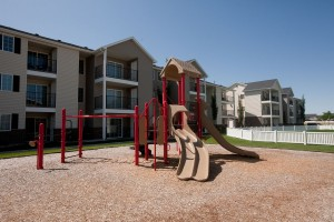 Rexburg ID Apartments with Outdoor play areas