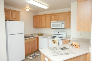 Rexburg ID Apartments with Built-in Microwaves