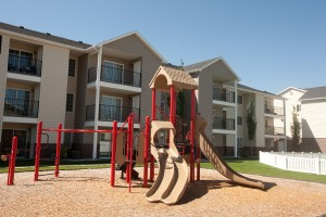 Rexburg ID Apartments with Children's play area