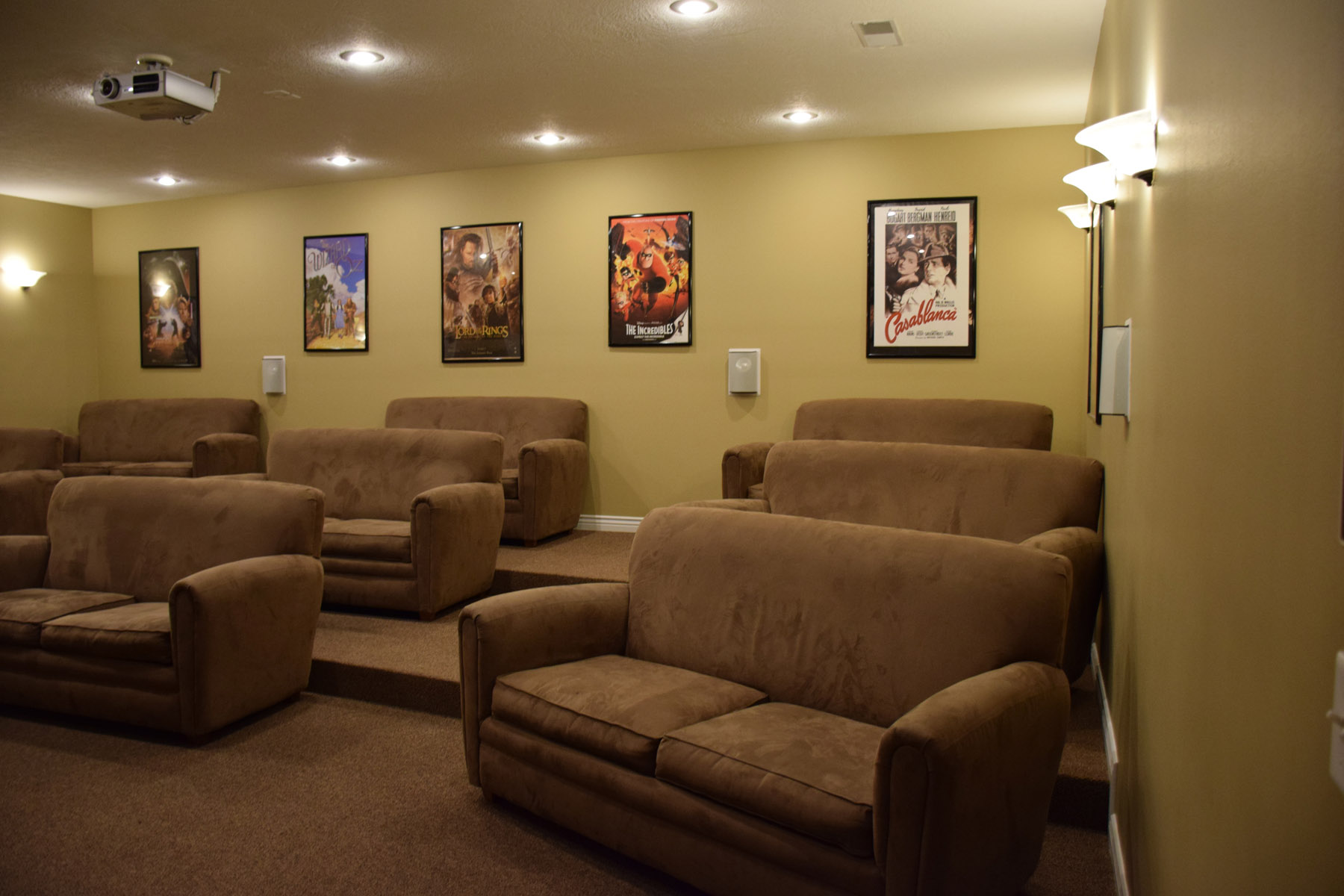... Media Room The Village Apartments 3 Seater Sofa Covers Ikea Velcromag  Church Stadium Seating ...