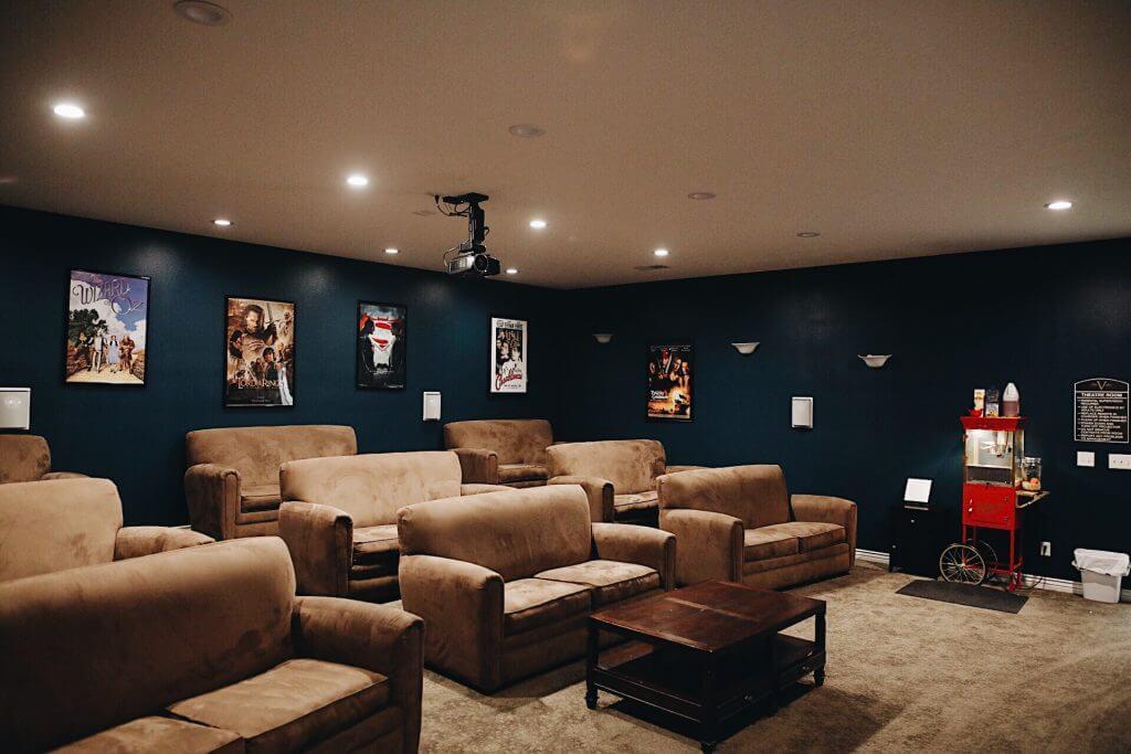 Rexburg ID Apartments with media room