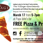 the village pizza party