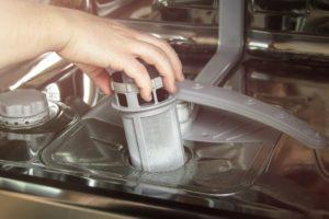 Spring Clean Dishwasher Filter